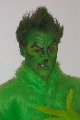 Thegrinch Body Painting