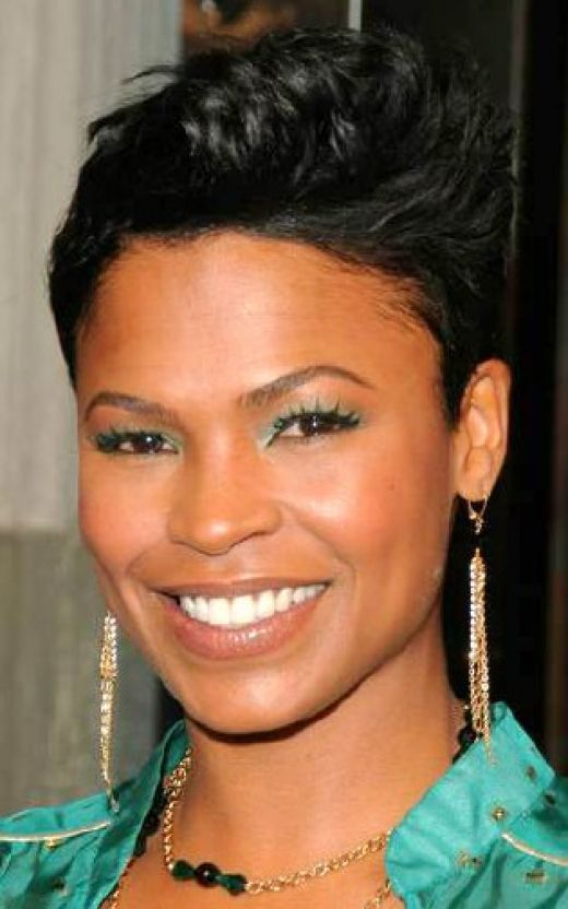 short hairstyles for black women,sedu celebrity haircuts, blonde hair