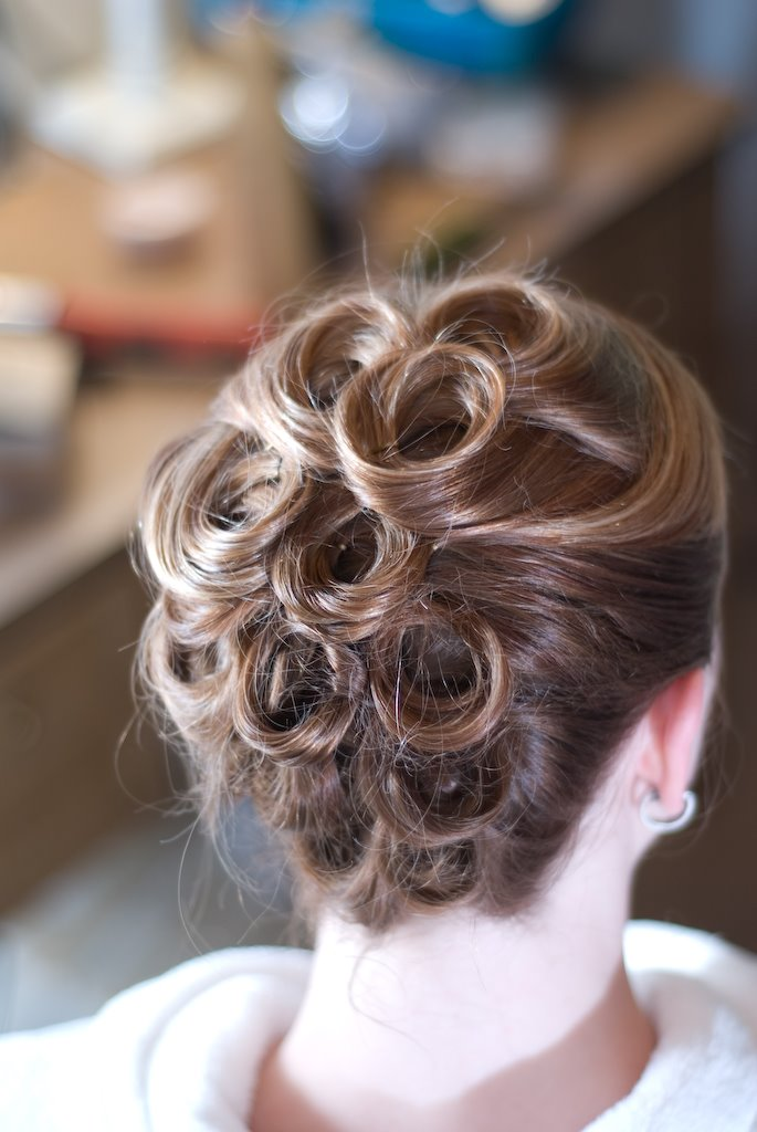 Check some of the elegant prom updo hairstyles for girls.