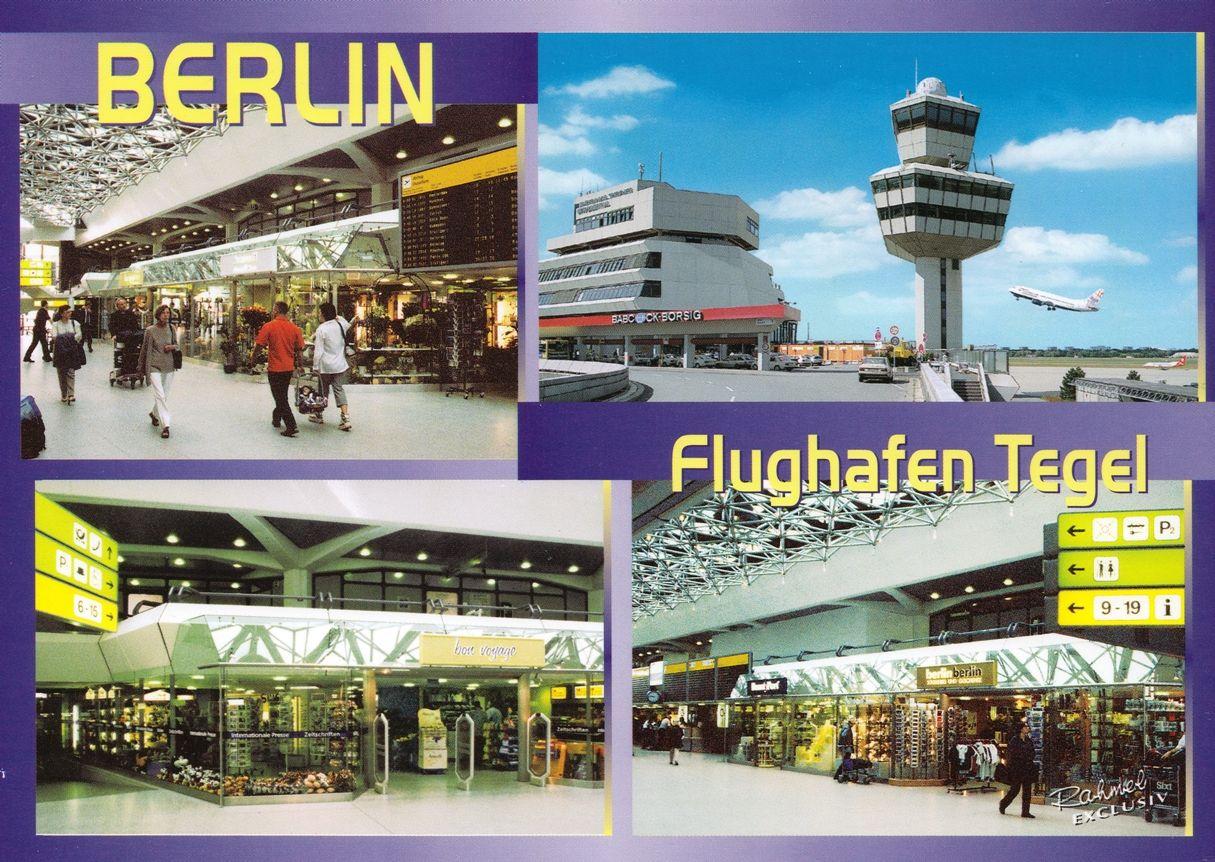 Postcards september 2008 for Flughafen tegel