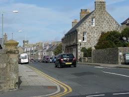 A street in the Shetland Islands