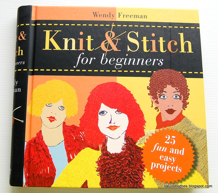New Knitting Stitch Library Book : organised clutter: Crafty Readings Sale