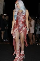 Lady Gaga Meat Suit Fashion