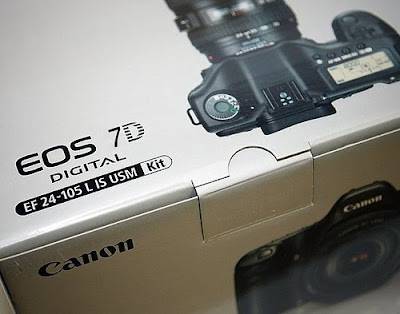 Canon 7D In The Box