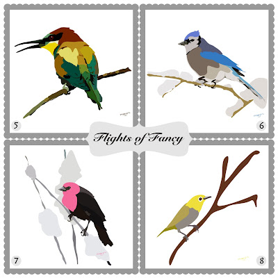 Flights of fancy, bird art of the day