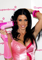 Katie Price Is A Slutty Hairdresser For Halloween