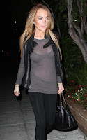 Lindsay Lohan Ruins A See Through Moment. Lesbianism Over?
