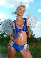 Kathy Lee Sexy Cheerleaders Pictures