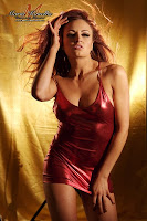 Maria Kanellis Sexy Red Tight Dress Pictures