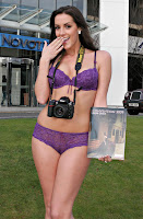 Katie Green Lingerie Model Extraordinaire