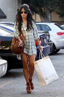 Vanessa Hudgens Forgot Her Pants