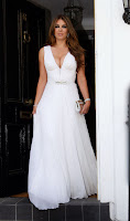Elizabeth Hurley heading to Elton John's White Tie And Tiara Ball