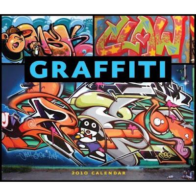 Graffiti 2010 Wall Calendar,graffiti art