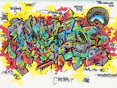 Graffiti Sketches,wildstyle graffiti