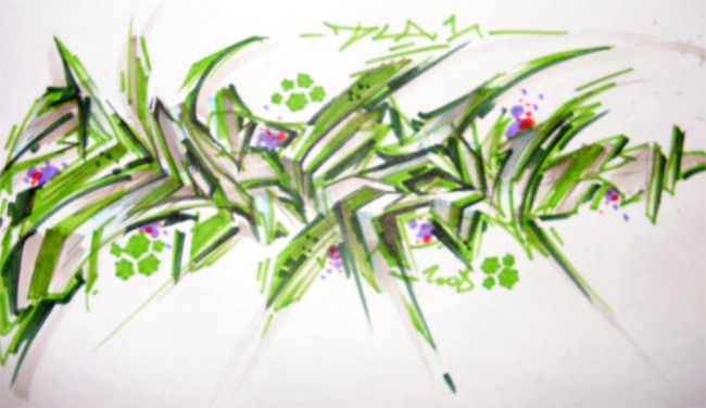 letter in graffiti writing. Wildstyle Graffiti Letters