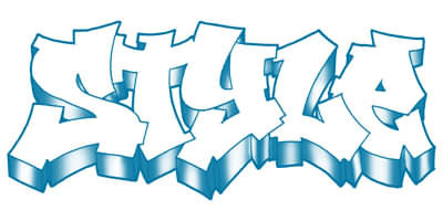 graffiti alphabet,digital graffiti