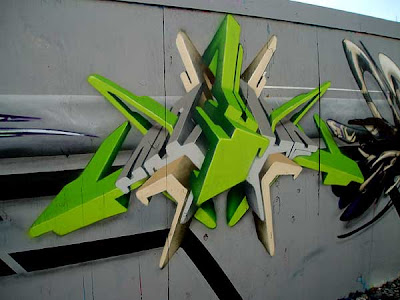 GRAFFITI ALPHABET,3D GRAFFITI ART