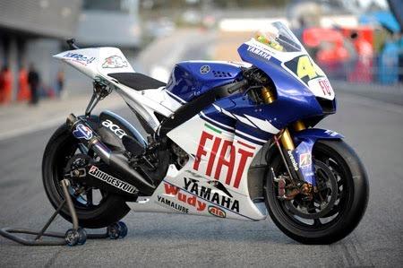 Motogp Yamaha Yzr M1 800cc Motorcycle Racing