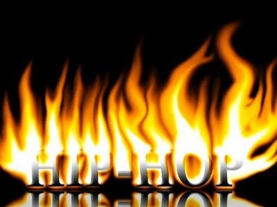 Fire Graffiti Letters HIP-HOP
