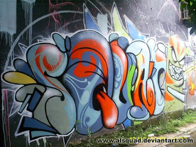 Graffiti Bubble Letter