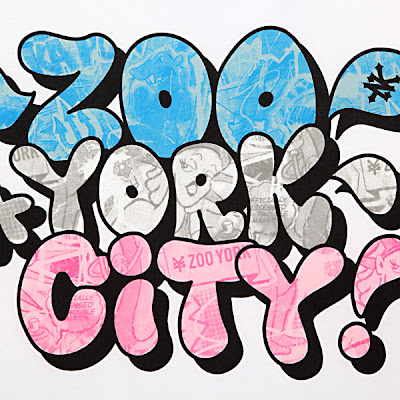 New York City Graffiti Bubble Letters