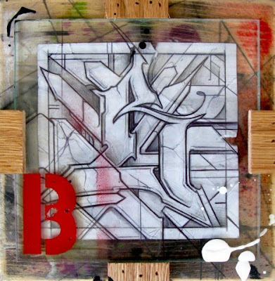 Sketch Graffiti Letters B