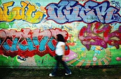 graffiti london