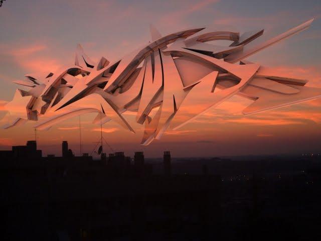 3D Modeling Graffiti