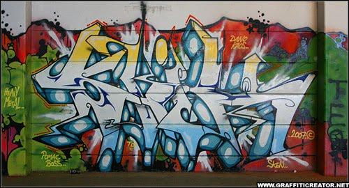 Make Graffiti Alphabet