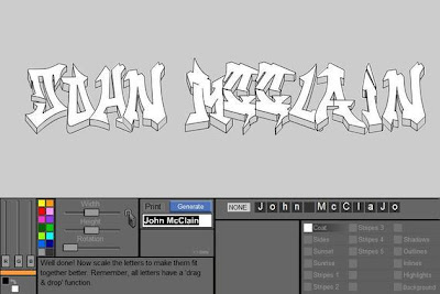 Graffiti Creator, Graffiti Tutorial