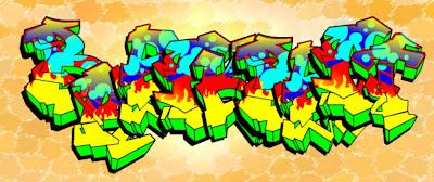 graffiti letters, graffiti creator