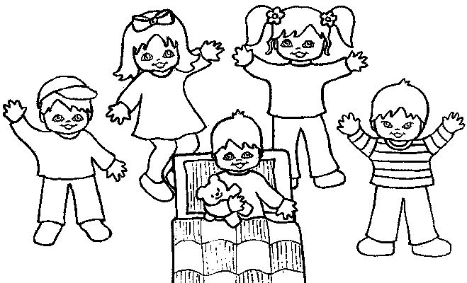 all the children kids coloring pages - Children Coloring Pages