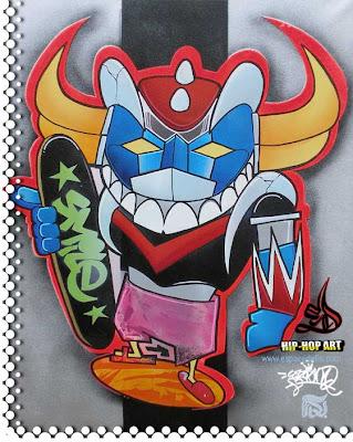 Graffiti Characters,Graffiti BlackBook
