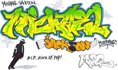Graffiti Letters,Graffiti Michael Jackson