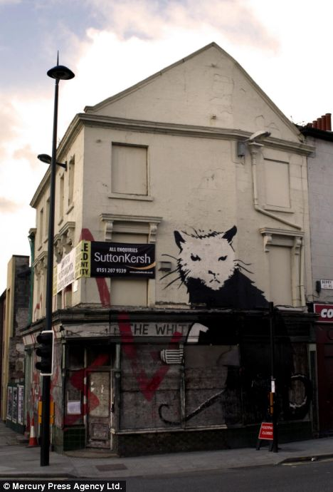 banksy wallpapers. Banksy Graffiti - Is It Art Or