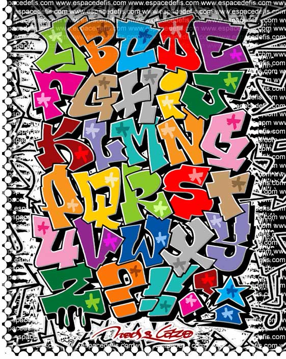 graffiti alphabet block style. Nice Graffiti Style: September