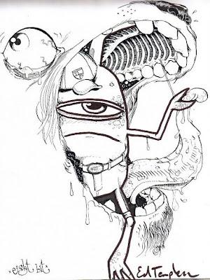 Graffiti Sketch, Wildstyle Graffiti