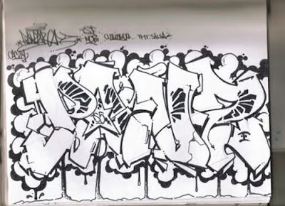 Wildstyle Graffiti, Graffiti Sketches
