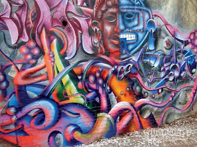 Graffiti Wall,Graffiti Characters