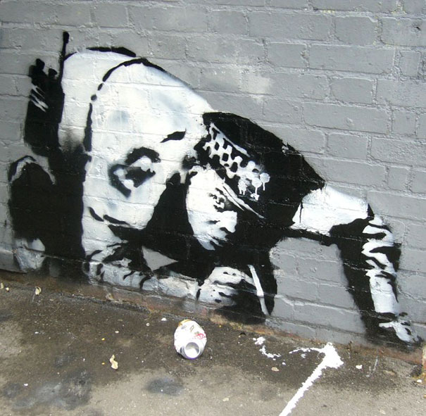 banksy graffiti wallpaper. Banksy Graffiti Street Art