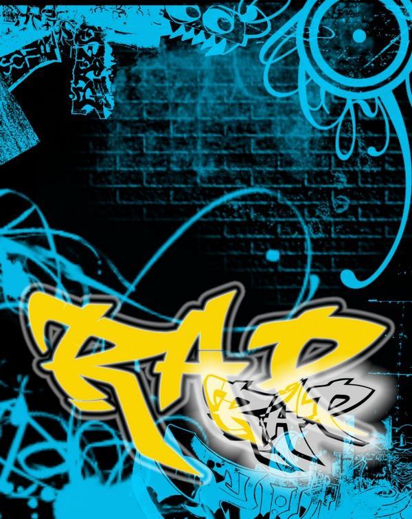 Rap Graffiti Wallpaper Background 600 X 755