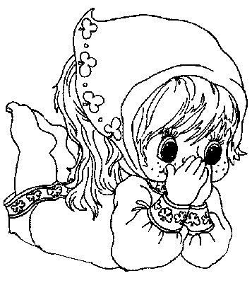 transmissionpress gypsy girl kids coloring pages