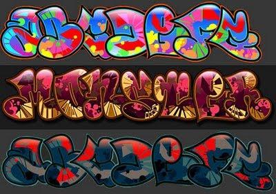 Graffiti Alphabet Bubble,Graffiti Letters