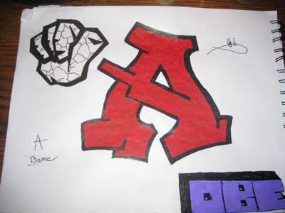 Graffiti Letters A, Graffiti A, Graffiti Letters