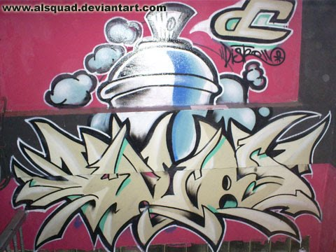 Cool Graffiti Spray