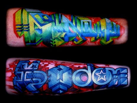Best Graffiti Tattoos on The Hand » Graffiti Tattoos