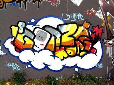 Graffiti Alphabet Bubble,Graffiti Alphabet