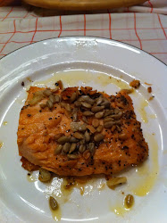 Oven Cooked Salmon in Olive Oil