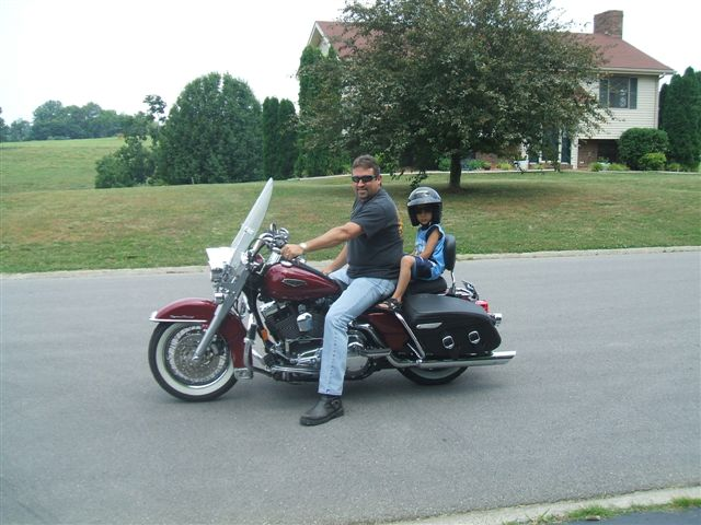 First Harley Ride