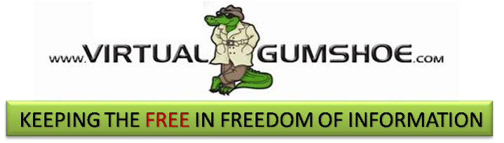 Virtualgumshoe FREEdom of Information Blog!